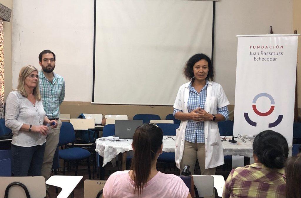 La Fundación Juan Rassmuss capacitó a profesionales del Hospital San Pablo
