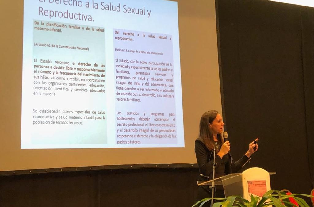 Latin-American Adolescence Congress: Staff from Ñangareko took part in the event