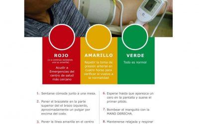 Afiche Uso Tensiometro Microlife