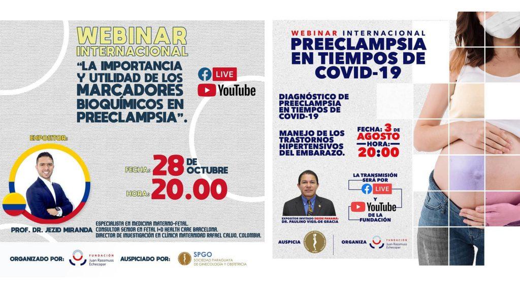 CICLO INTERNACIONAL DE WEBINARS SOBRE PREECLAMPSIA