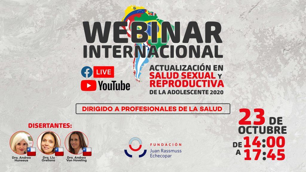 WEBINARS INTERNACIONALES DIRIGIDO A PROFESIONALES DE LA SALUD