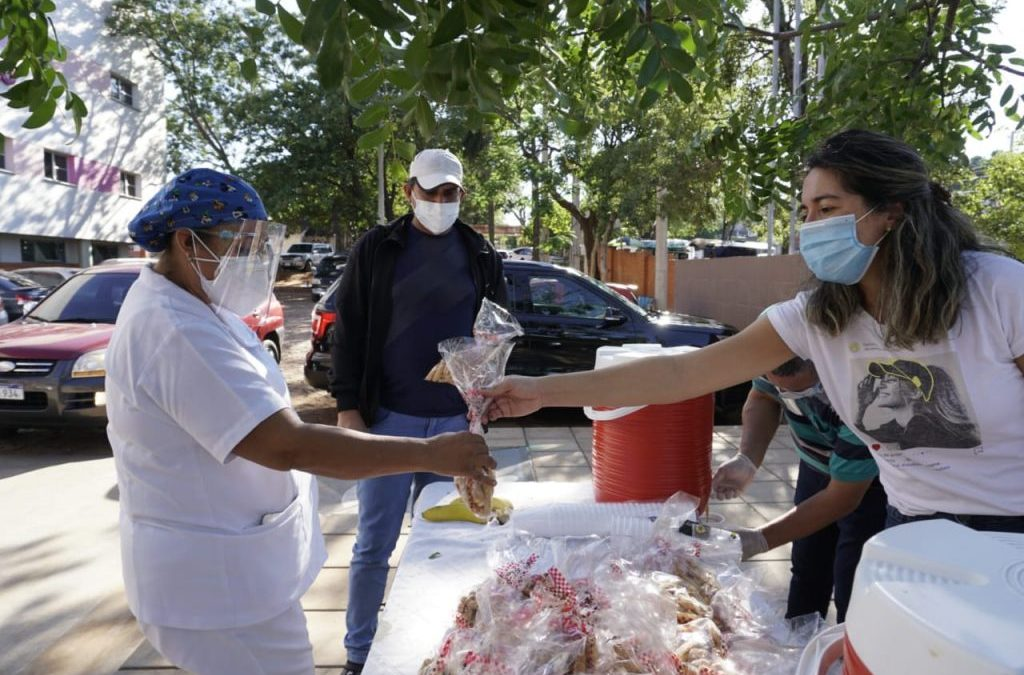 Health crisis: small acts of solidarity, great satisfaction