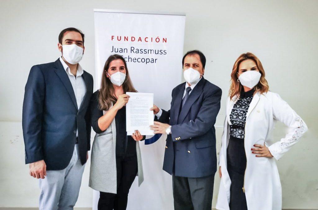 FJRE SUSCRIBE ACUERDO CON EL HOSPITAL SAN PABLO PARA LA IMPLEMENTACIÓN DEL DESAFÍO PREECLAMPSIA